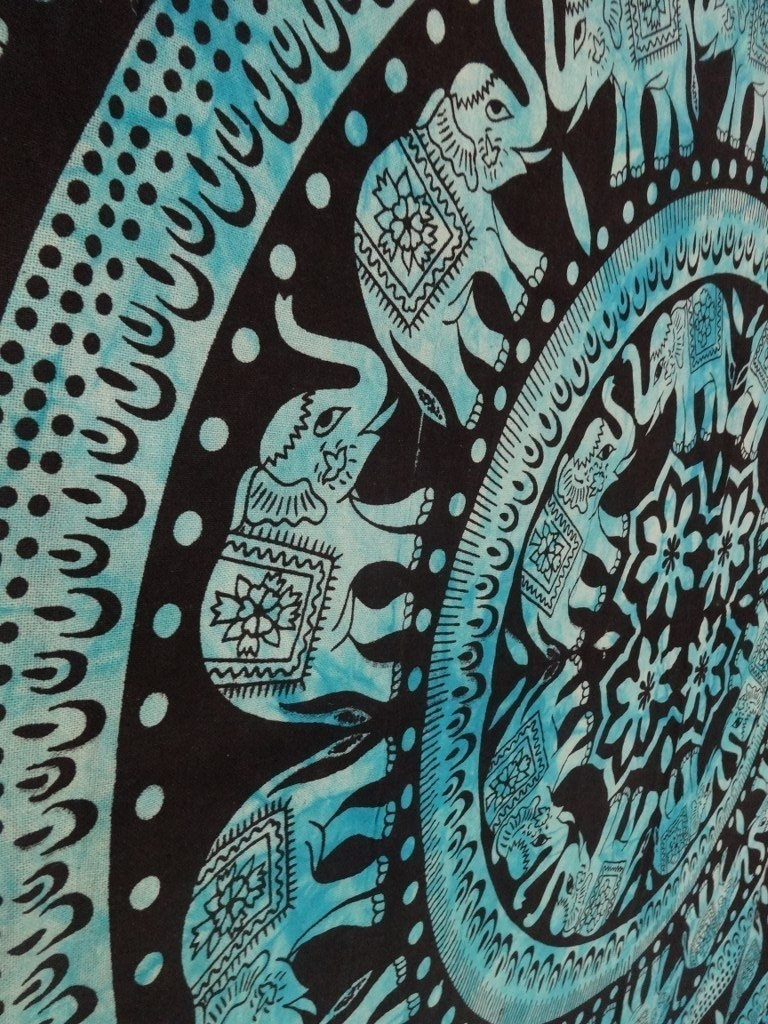Featured Photo of Elephant Fabric Wall Art