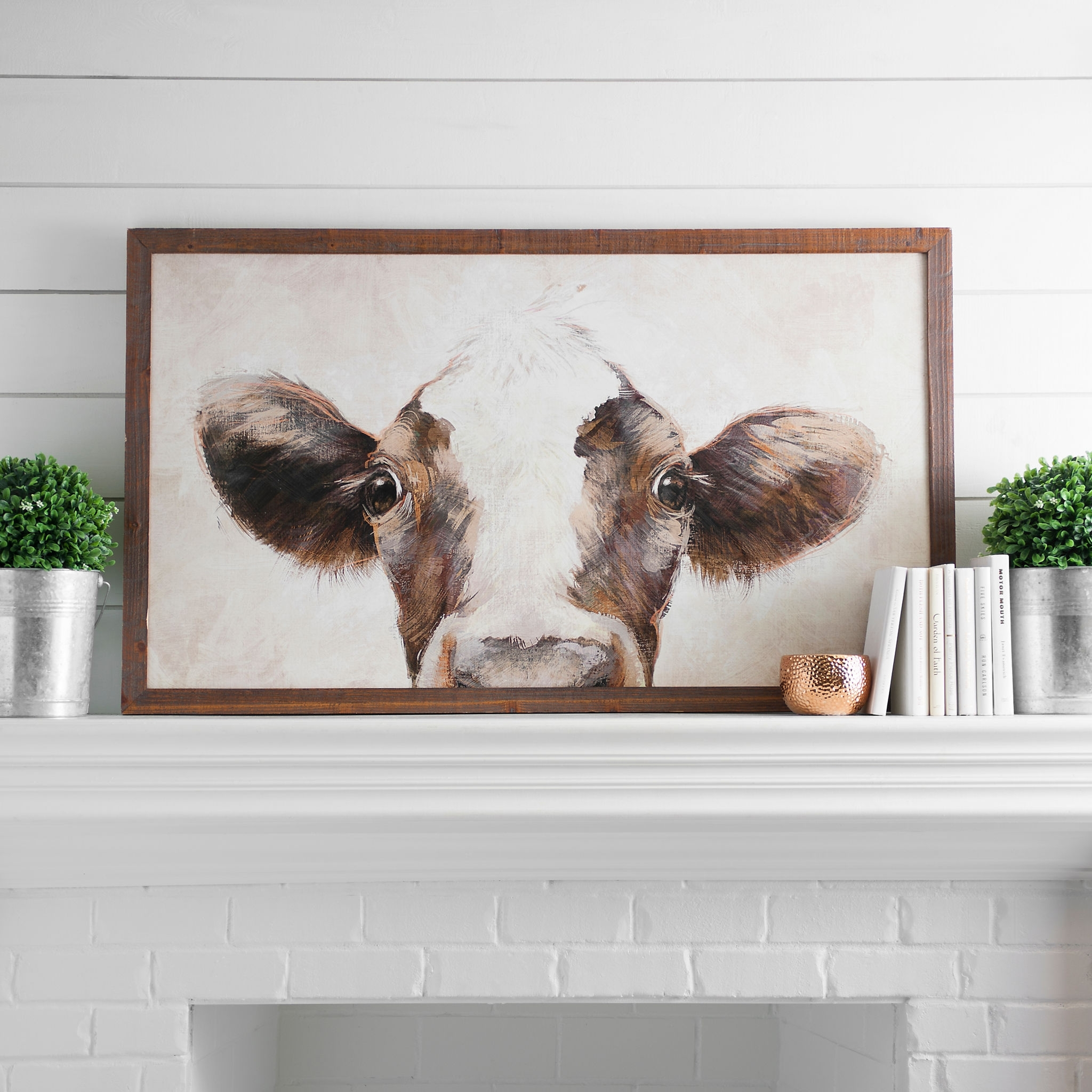 Chocolate Milk Framed Art Print | Printing, Rustic Farmhouse And Within Newest Framed Animal Art Prints (View 4 of 15)