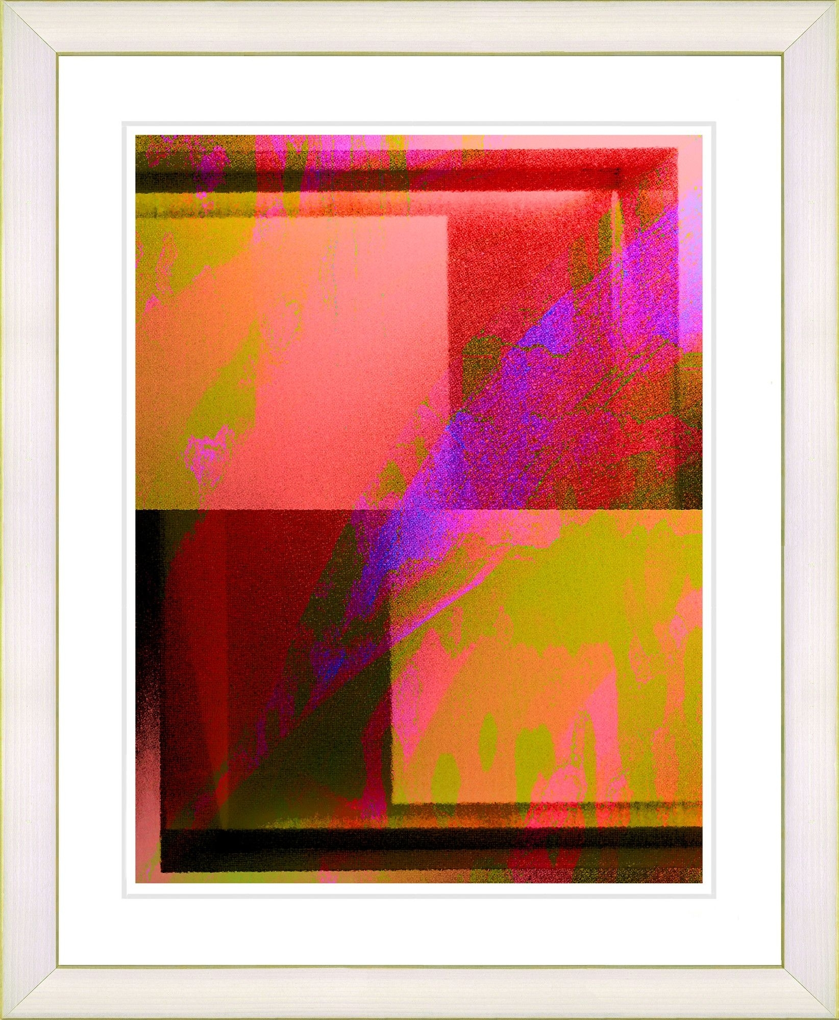 Cinnabar Quezhee Singer Framed Fine Art Giclee Painting Print Within Newest Framed Fine Art Prints (View 9 of 15)