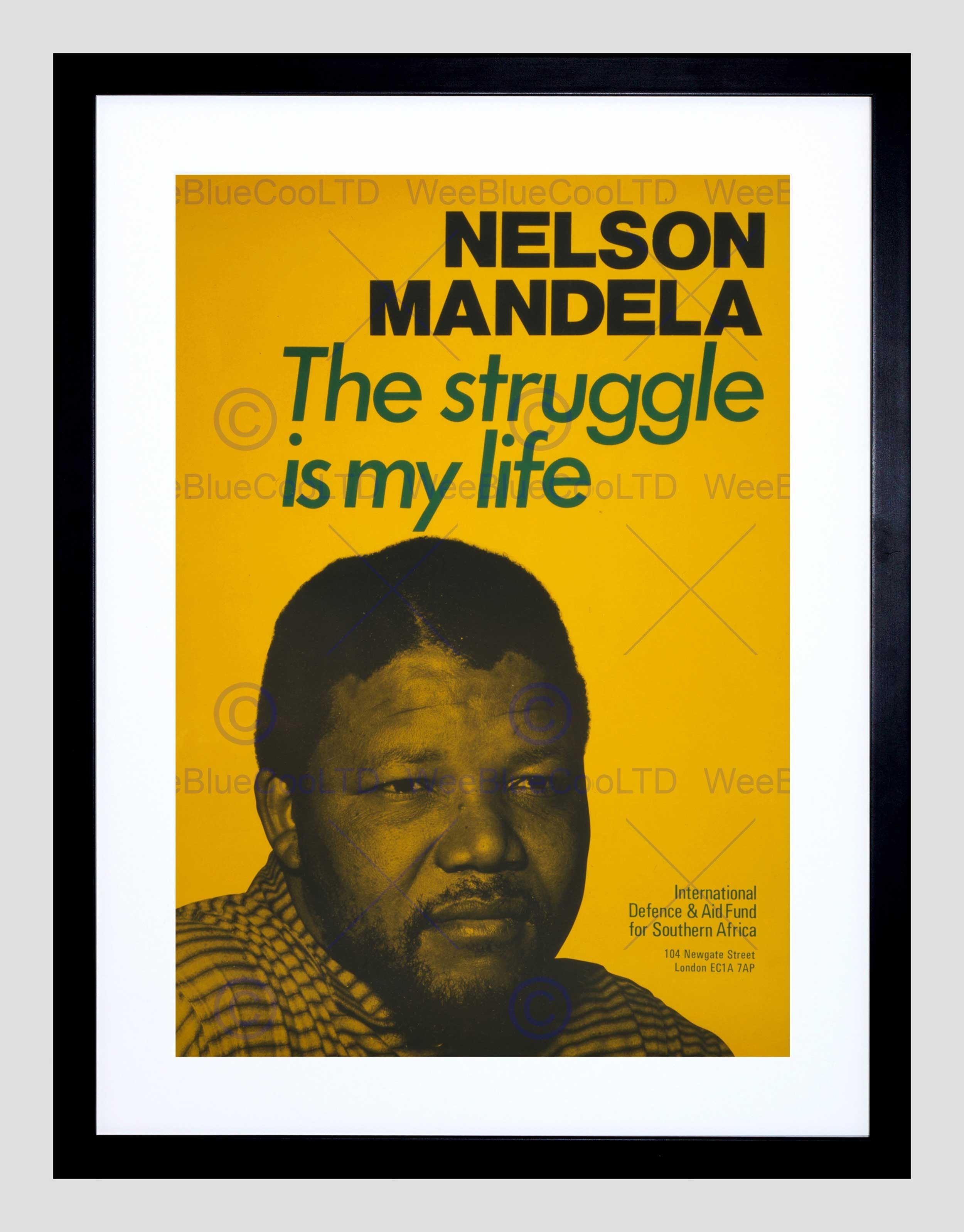 Civil Rights Apartheid Mandela South Africa Black Framed Art Print In Recent South Africa Framed Art Prints (Gallery 7 of 15)