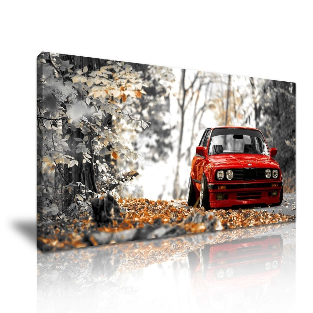 Classic Bmw Canvas Wall Art Picture Print 60X30Cm | Ebay In Most Popular Bmw Canvas Wall Art (View 5 of 15)