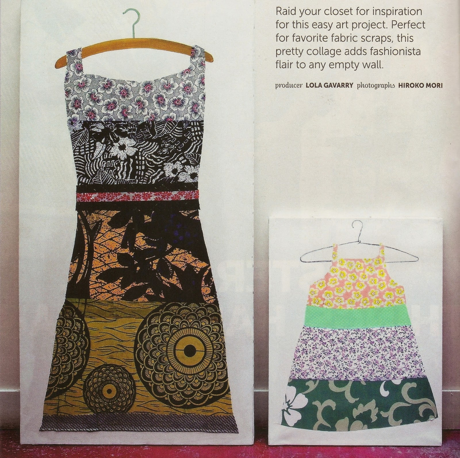 Clothing As Art In Most Popular Fabric Dress Wall Art (View 4 of 15)