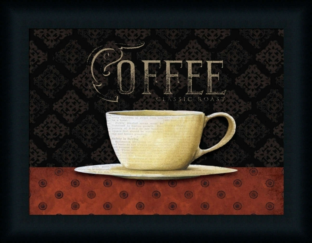 Coffee Dee Dee Art Print Framed Unframed At Www With Regard To With Latest Framed Coffee Art Prints (View 9 of 15)
