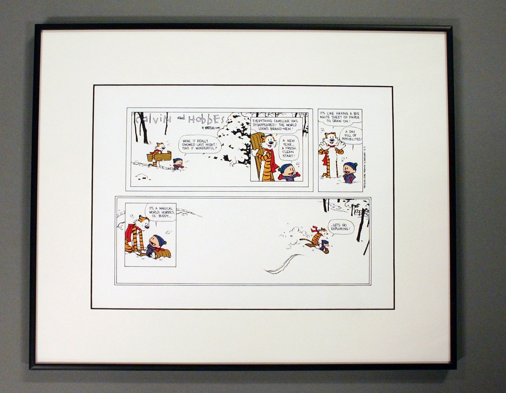 Featured Photo of Framed Comic Art Prints