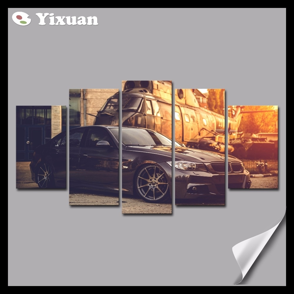 Compare Prices On Bmw Pictures Online Shopping/buy Low Price Bmw With Current Bmw Canvas Wall Art (View 11 of 15)