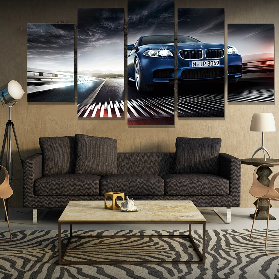 Compare Prices On Bmw Picturs  Online Shopping/buy Low Price Bmw In Current Bmw Canvas Wall Art (View 7 of 15)