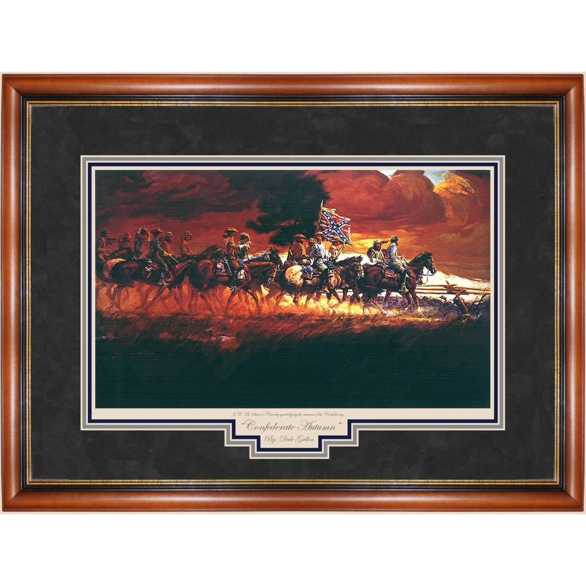 Confederate Autumn Print – Prints – Art Reproductions – Confederate For Best And Newest Confederate Framed Art Prints (View 1 of 15)