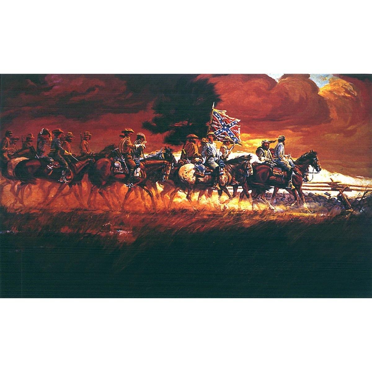 Confederate Autumn Print – Prints – Art Reproductions – Confederate Inside Most Up To Date Confederate Framed Art Prints (View 5 of 15)