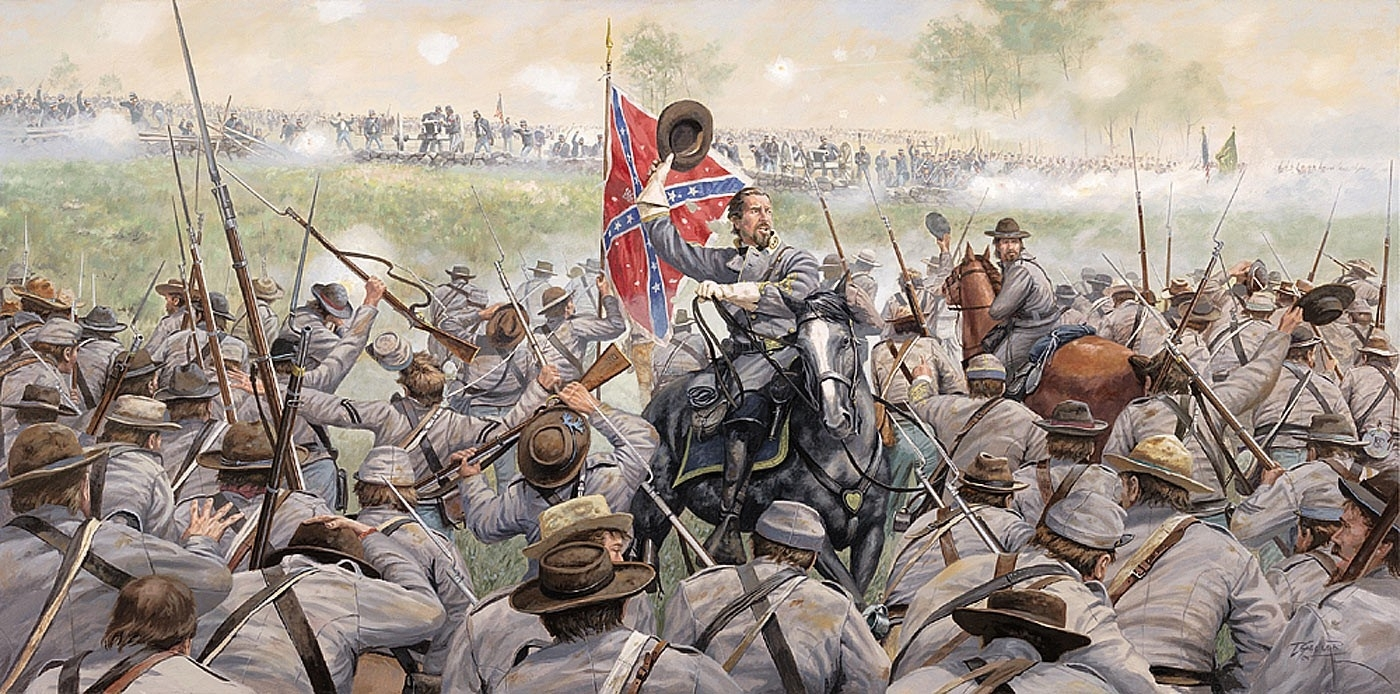 Confederate Glory Print – Prints – Art Reproductions – Civil War Intended For Most Recently Released Confederate Framed Art Prints (Gallery 12 of 15)
