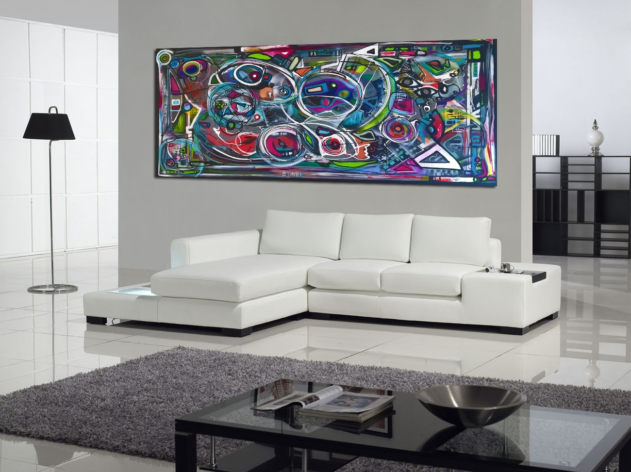 Contemporary Modern On Canvas 2M X 1M #contemporaryart Regarding Most Recently Released Johannesburg Canvas Wall Art (View 6 of 15)