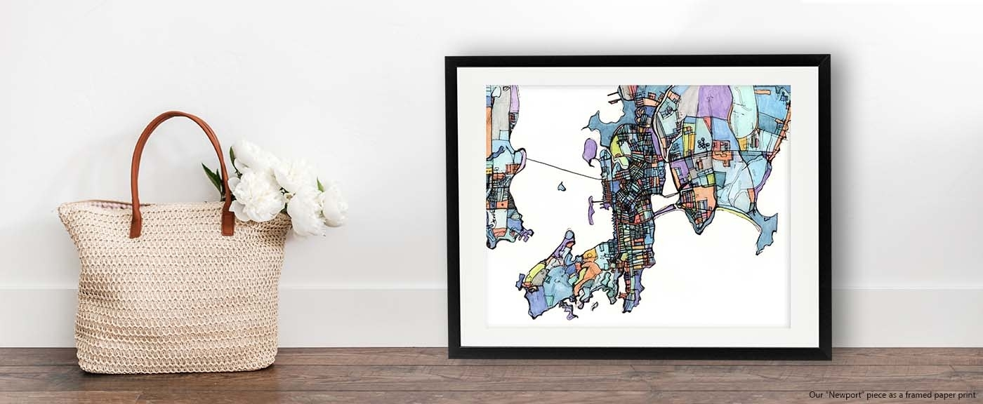Contemporary Wall Art | Digitally Merged Illustrations And Inside Current Contemporary Framed Art Prints (View 8 of 15)