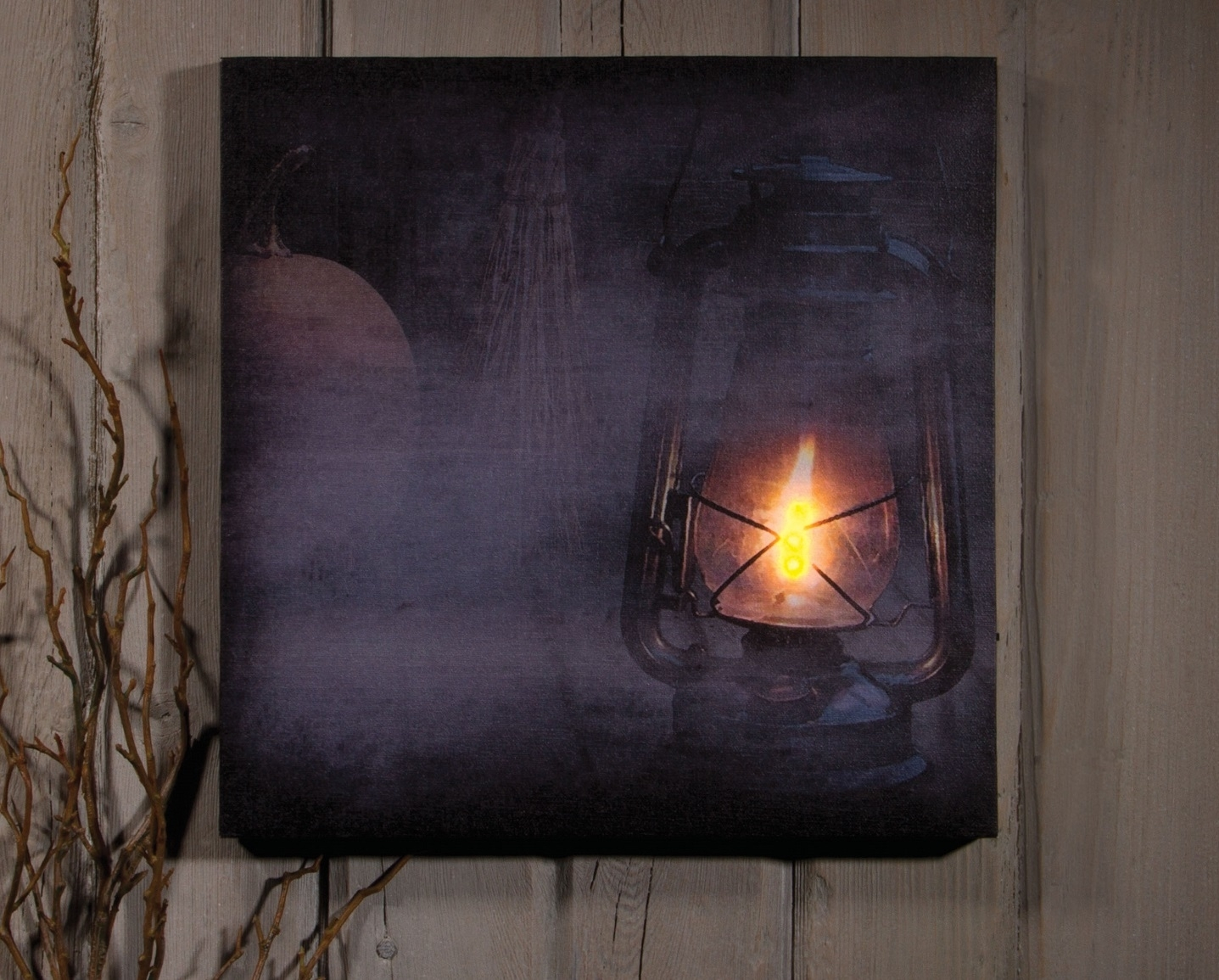 Cool 60+ Lighted Canvas Wall Art Design Ideas Of Church In Winter Pertaining To Latest Halloween Led Canvas Wall Art (View 2 of 15)