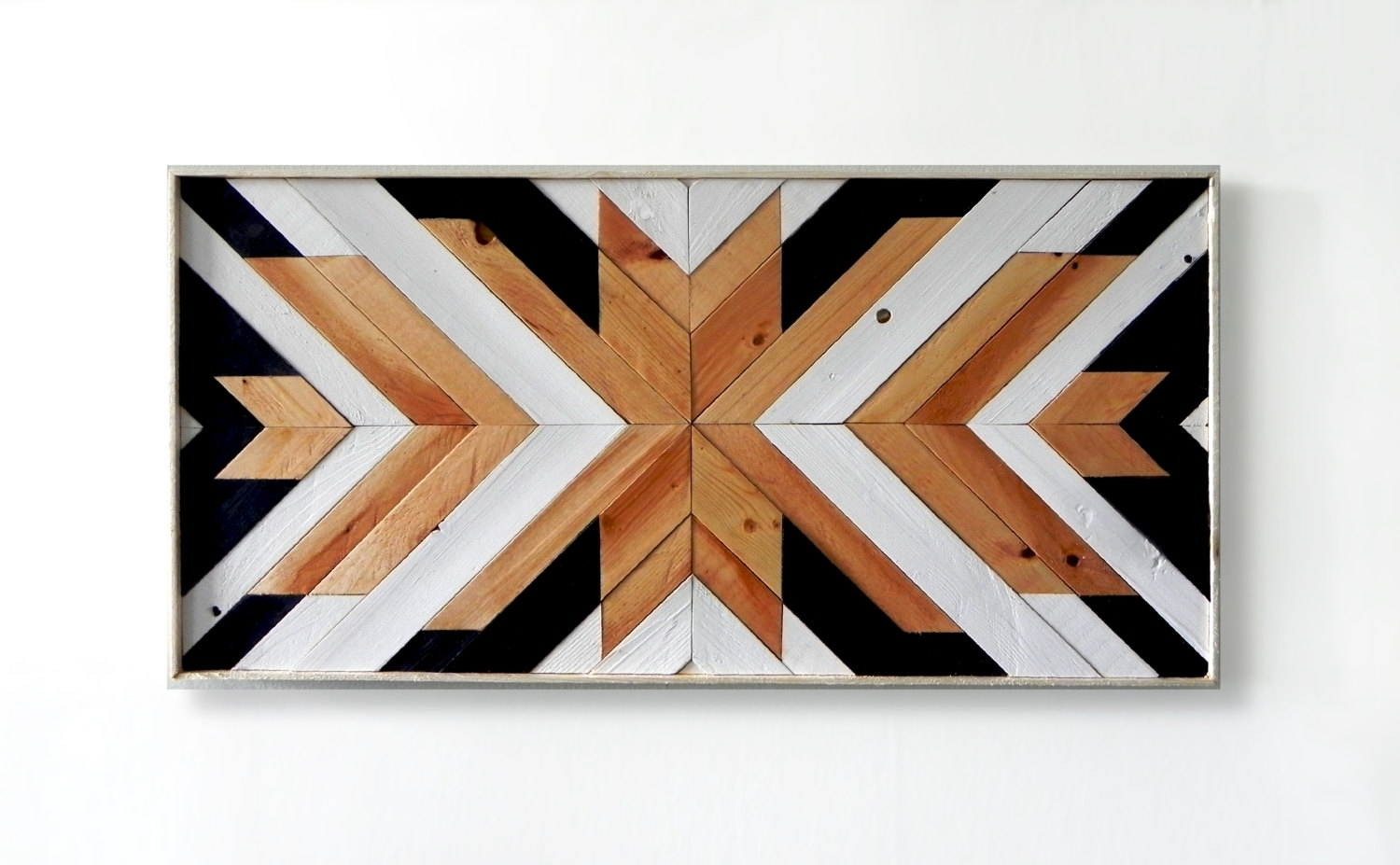 Cool Design Wood Wall Art Beautiful Ideas Wall Art Wood Metal And Intended For Recent Geometric Fabric Wall Art (View 4 of 15)