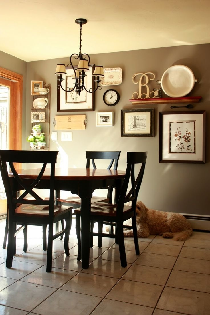 Cool Kitchen Decorating Ideas Have Ffbeaca Dining Room Wall Decor Regarding Latest Wall Accents For Kitchen (View 4 of 15)