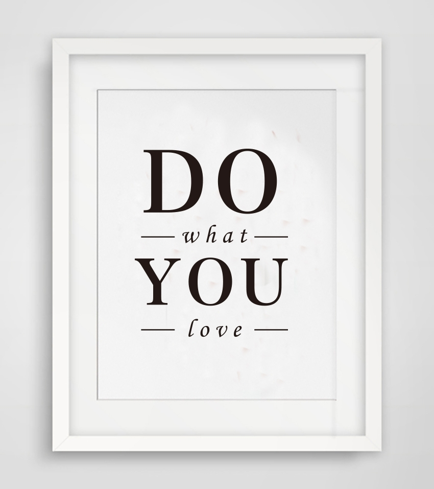 Cotill Do What You Love Canvas Painting Wall Art Home Decor Intended For Newest Love Canvas Wall Art (View 8 of 15)