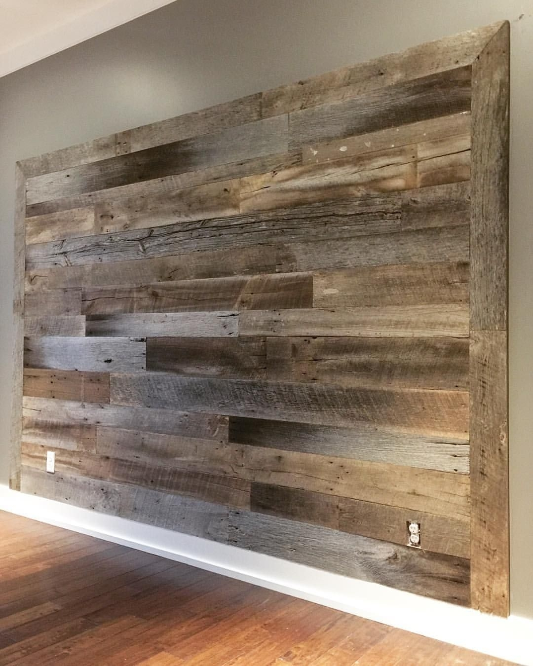 Could Be Easy For The Bedroom | My Dream House! | Pinterest With Most Recently Released Wood Wall Accents (Gallery 2 of 15)
