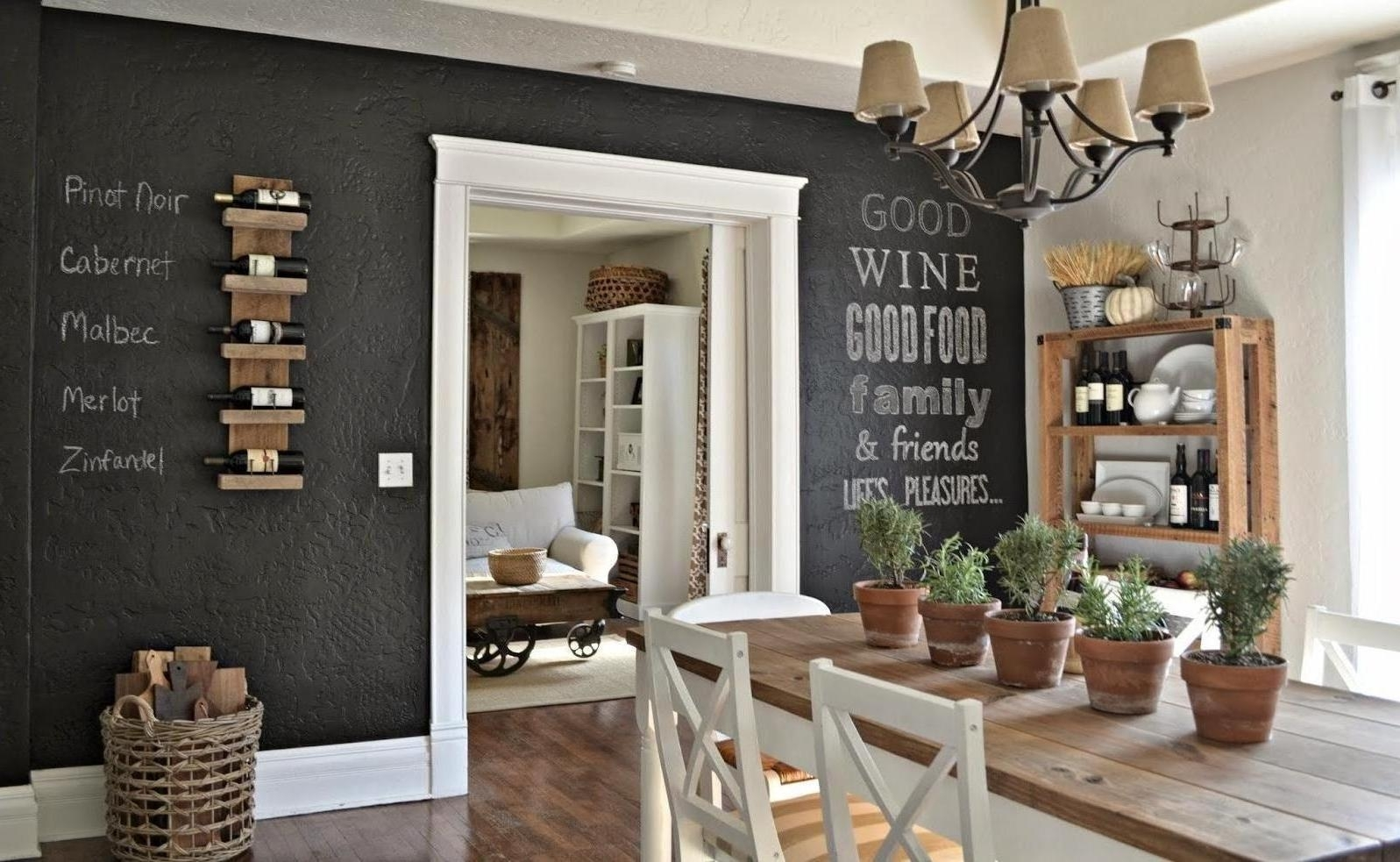 Creative Dining Room Wall Decor – Dining Room Wall Decor Concept With Most Recently Released Dining Room Wall Accents (View 6 of 15)