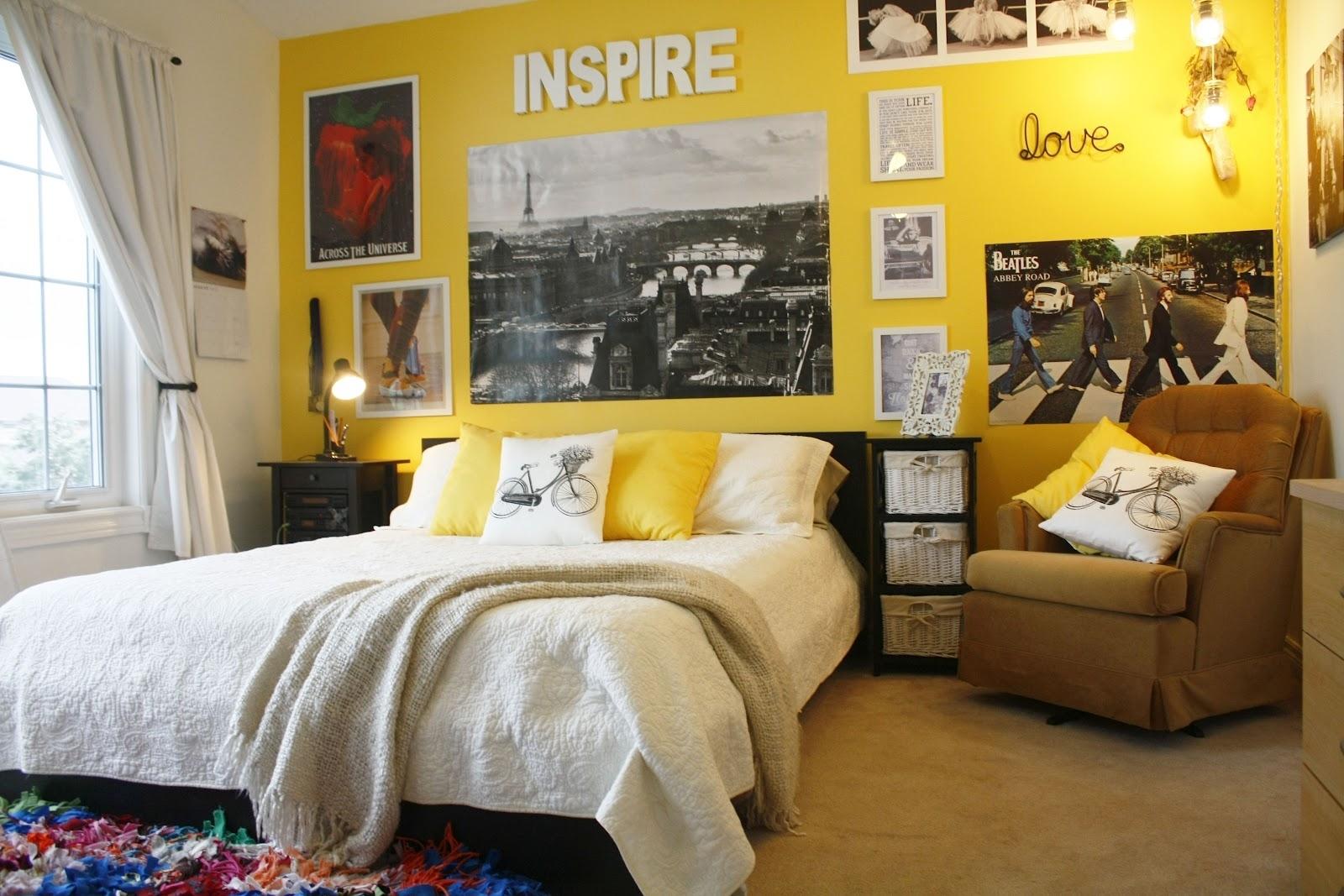 Creative Hippie Wall Decor | Home Design Ideas : Hippie Wall Decor For Recent Yellow Wall Accents (View 6 of 15)