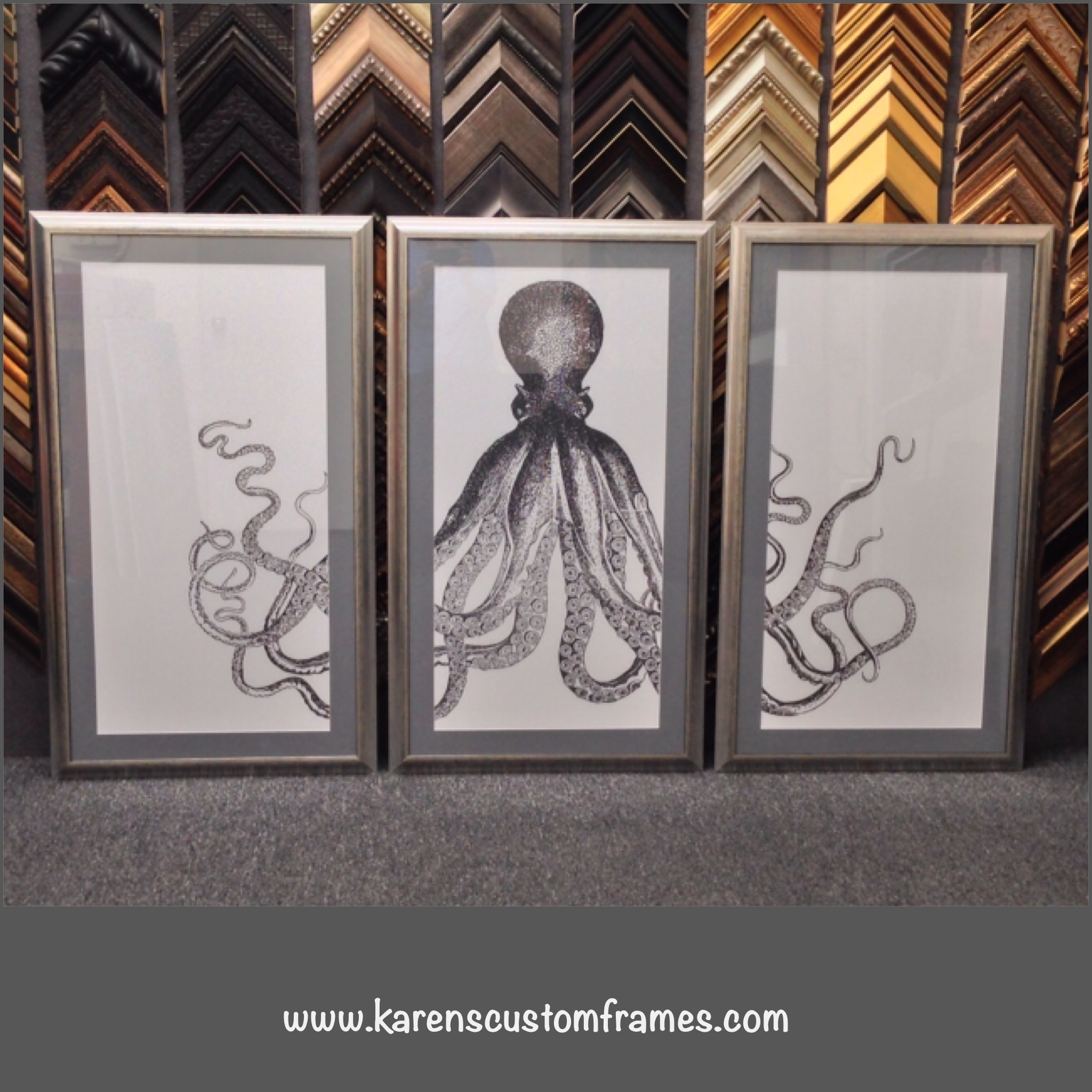 Custom Design And Picture Framingkarens Detail Frames This Intended For Best And Newest Custom Framed Art Prints (View 5 of 15)