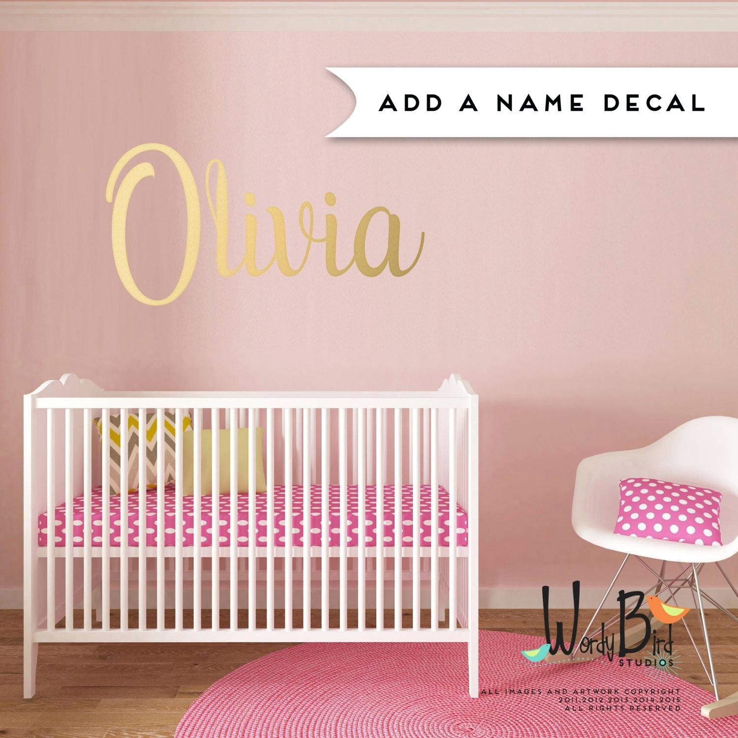 Custom Nursery Wall Decals Wall Ideas Personalized Wall Art With Latest Custom Nursery Canvas Wall Art (View 15 of 15)