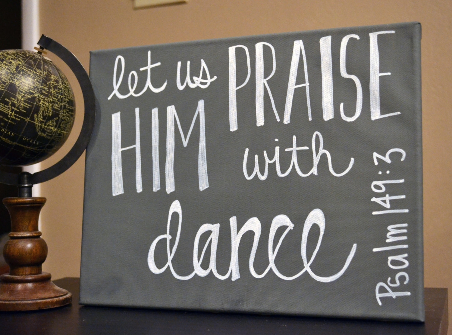 Dance Bible Verse Wall Art Canvas Painting Wall Hanging Scripture In Current Dance Quotes Canvas Wall Art (View 2 of 15)