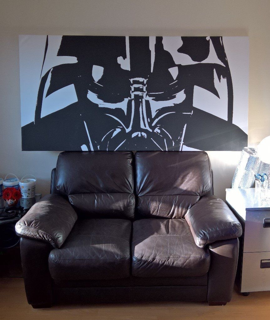 Darth Vadar – Canvas – Wall Art – Very Large | In Invergordon In Most Recently Released Gumtree Canvas Wall Art (View 8 of 15)