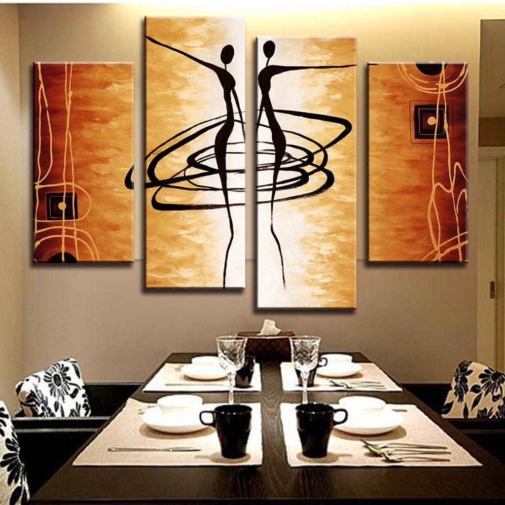Decor: Marvellous Large Canvas Wall Art For Decorating Dining Room For Current Canvas Wall Art For Dining Room (View 7 of 15)