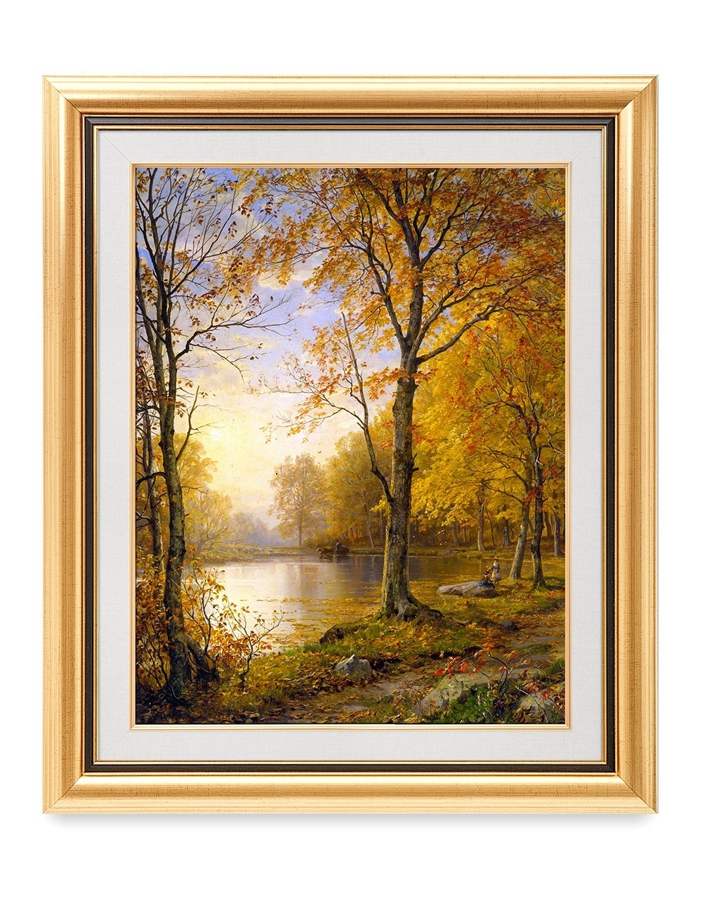 Decorarts – 'indian Summer', William Trost Richards; Classic Art Throughout Most Popular Framed Classic Art Prints (View 4 of 15)
