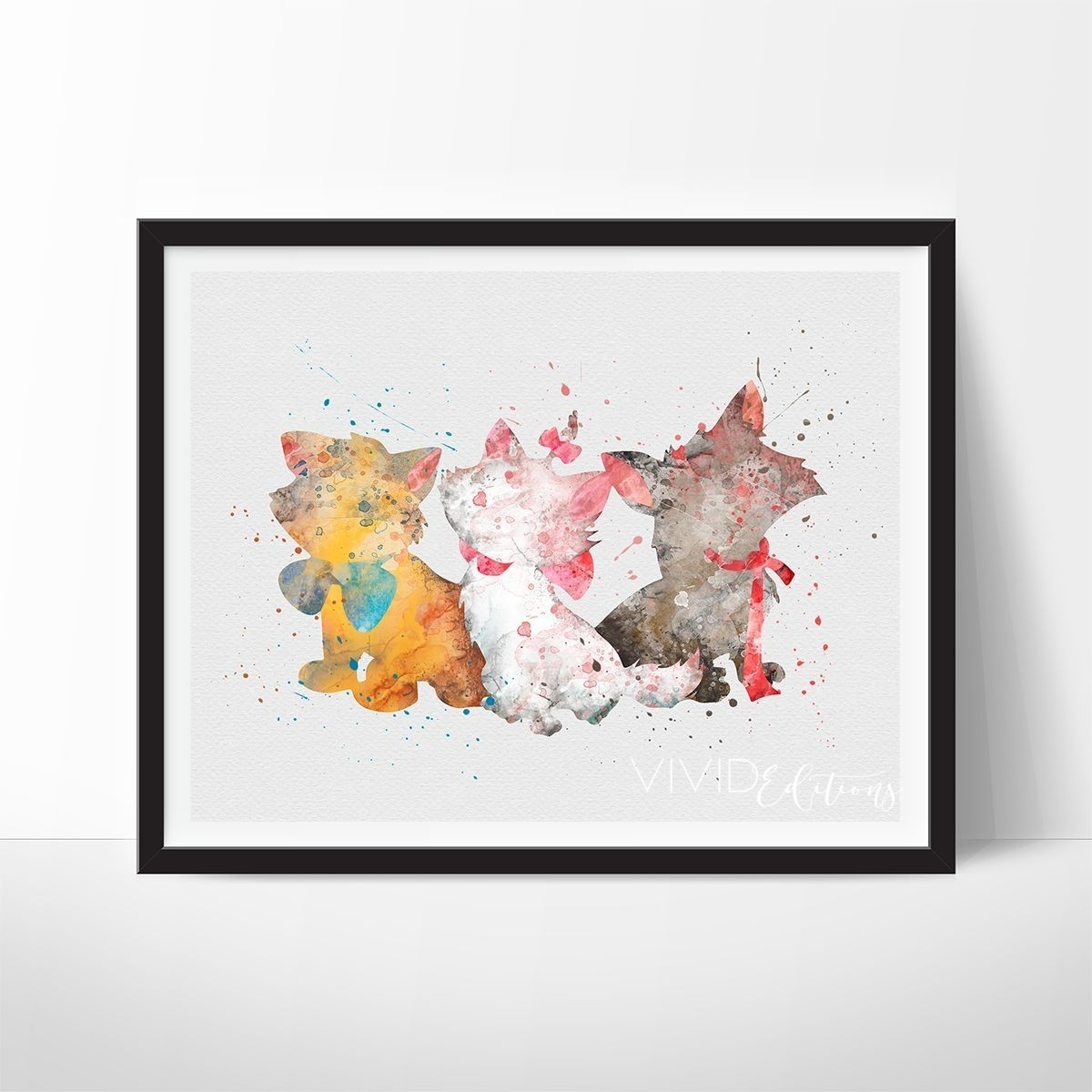 Decorate Your Nursery With Watercolor Art Prints For Nursery Walls For Most Current Disney Framed Art Prints (Gallery 11 of 15)