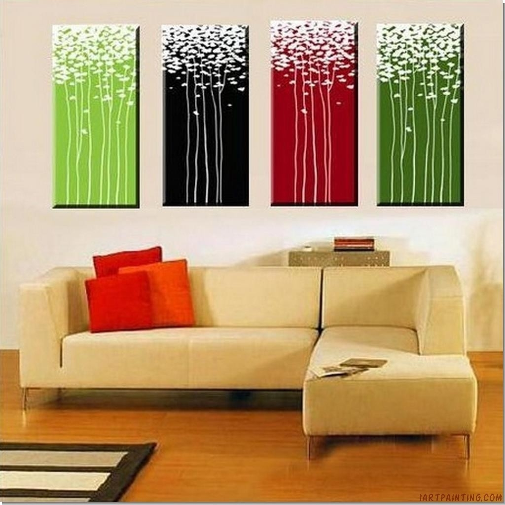 Decorating. Gorgeous Acrylic Paintings Wall Decor Inspiration Inside Recent Large Modern Fabric Wall Art (Gallery 10 of 15)