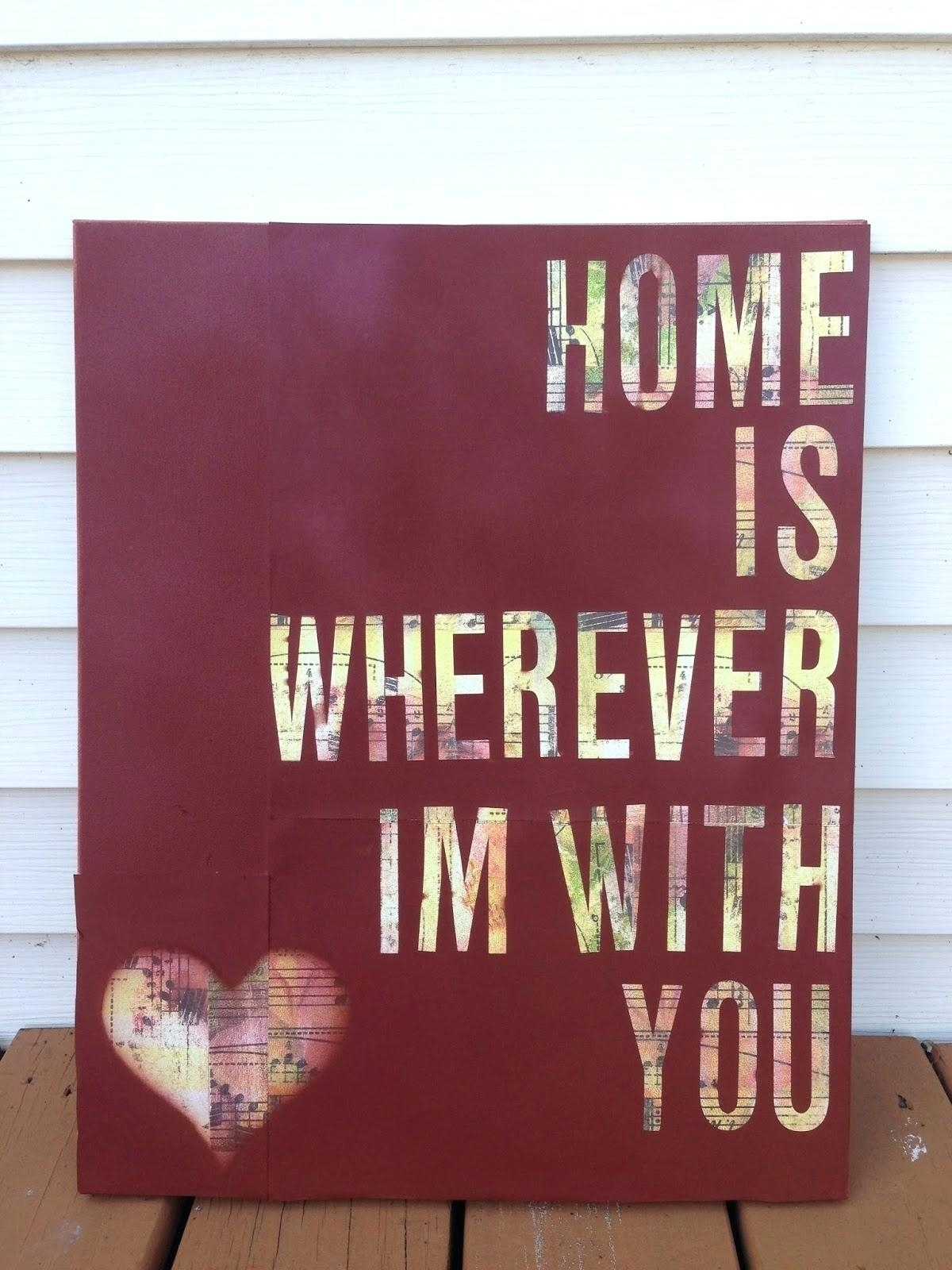 Decoration: Diy Canvas Wall Art Quotes (View 5 of 15)