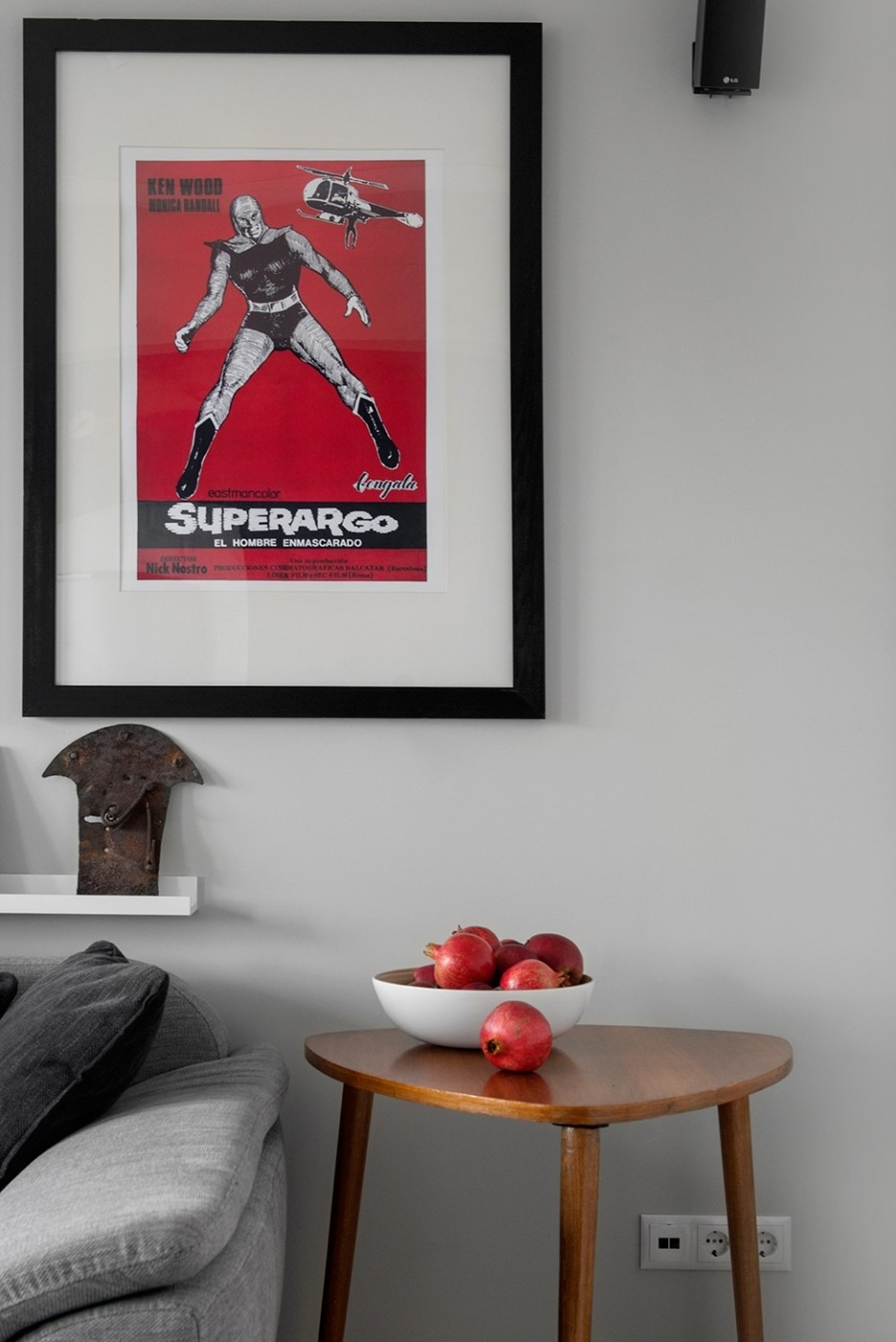 Decoration Ideas: Magnificent Living Room Interior Decoration With Inside Newest Red Fabric Wall Art (Gallery 10 of 15)