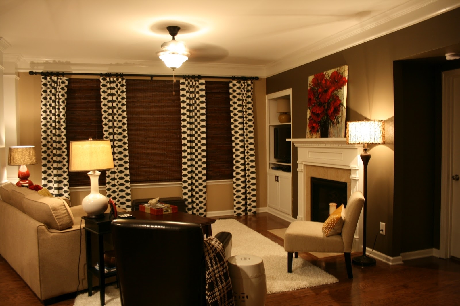 Decoration. Paint And Accent Wall Ideas To Transform Your Room pertaining to Current Brown Wall Accents