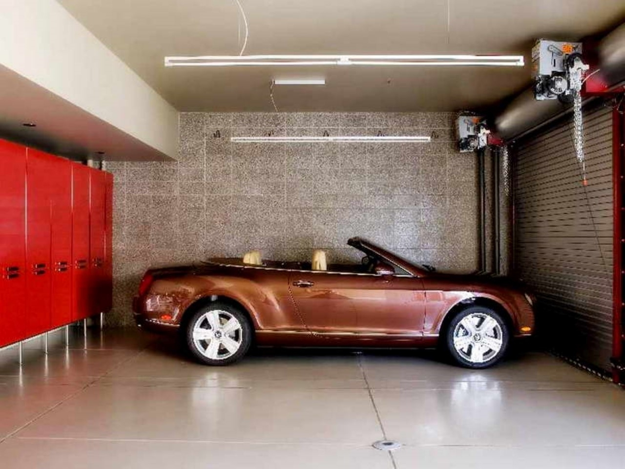 Decorations : Classic Garage Idea With Brick Wall Accents Also inside Most Recent Garage Wall Accents