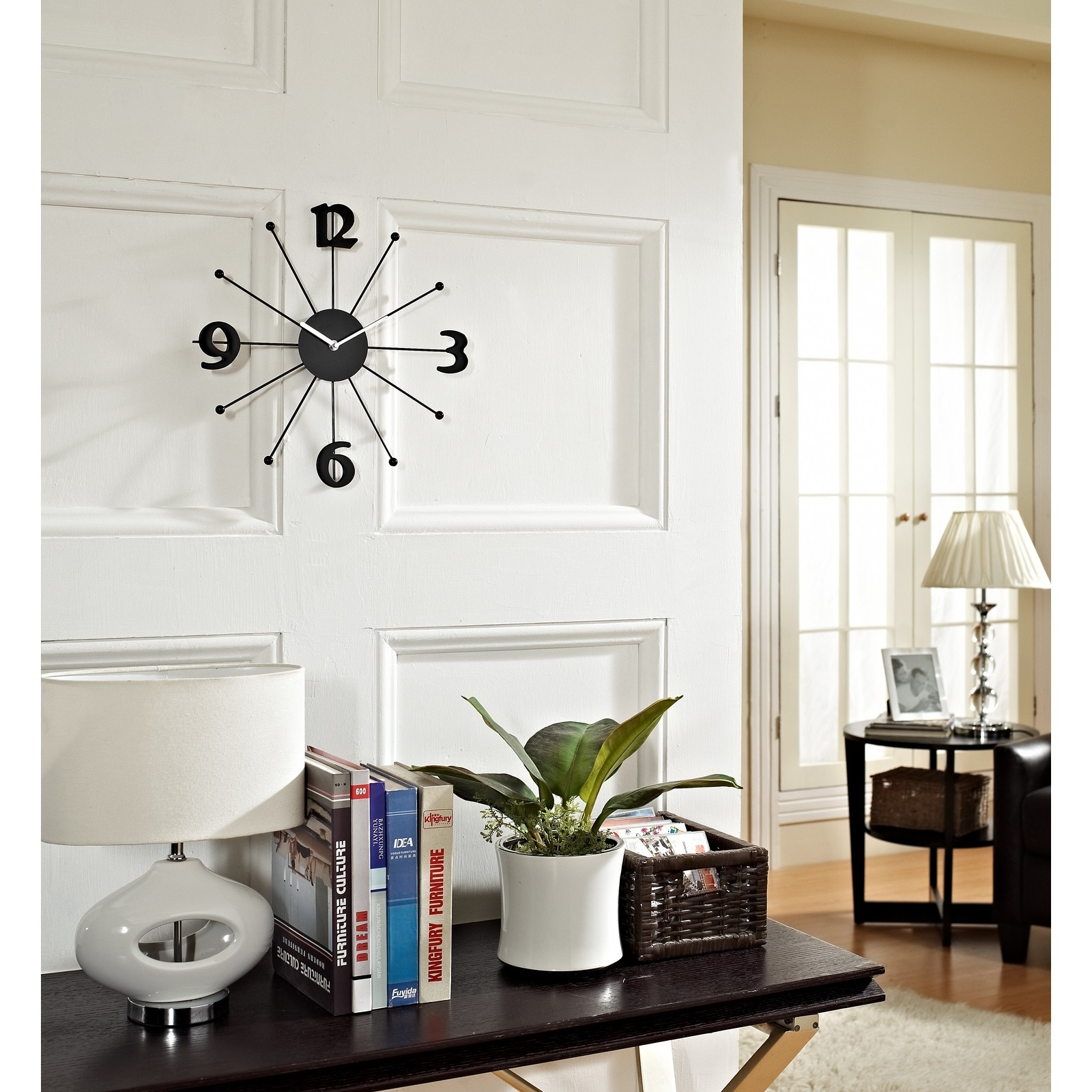 Decorative Fancy Wall Clocks | Homesfeed Pertaining To Most Current Clock Wall Accents (View 5 of 15)