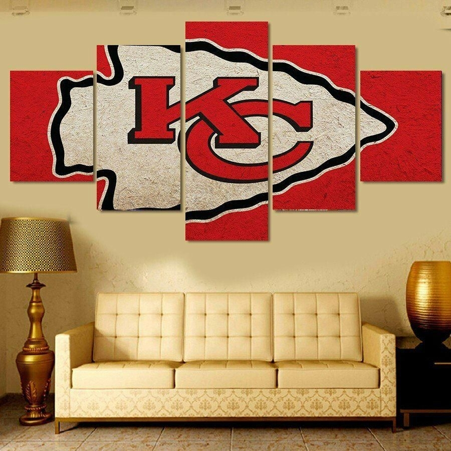 Delighted Nfl Wall Decor Ideas – The Wall Art Decorations With Regard To Newest Gordmans Canvas Wall Art (View 6 of 15)