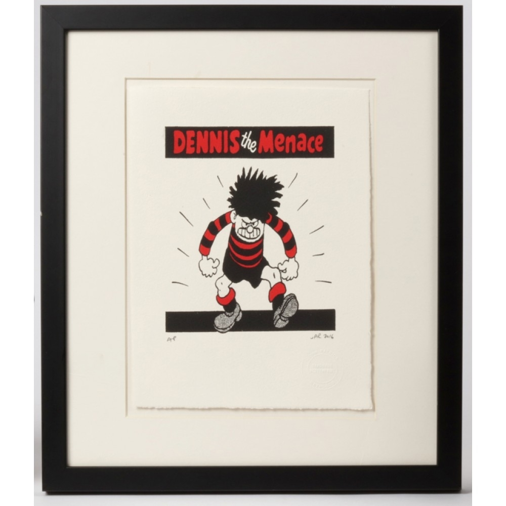 Dennis The Menace Menacing Print | Beano Shop In Most Current Framed Comic Art Prints (View 10 of 15)