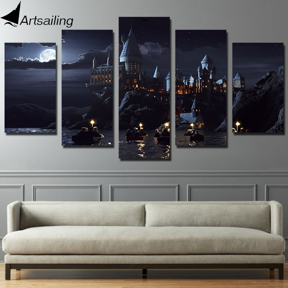 Designs : 5 Piece Framed Canvas Wall Art With 5 Piece Canvas Wall Regarding Newest Kohls 5 Piece Canvas Wall Art (View 7 of 15)