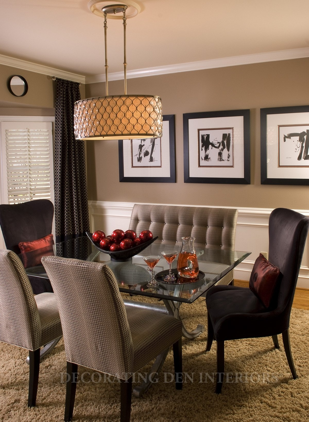 Dining Room : Dining Room Modern Walls Wall Furniture Art Regarding Most Current Neutral Color Wall Accents (View 3 of 15)
