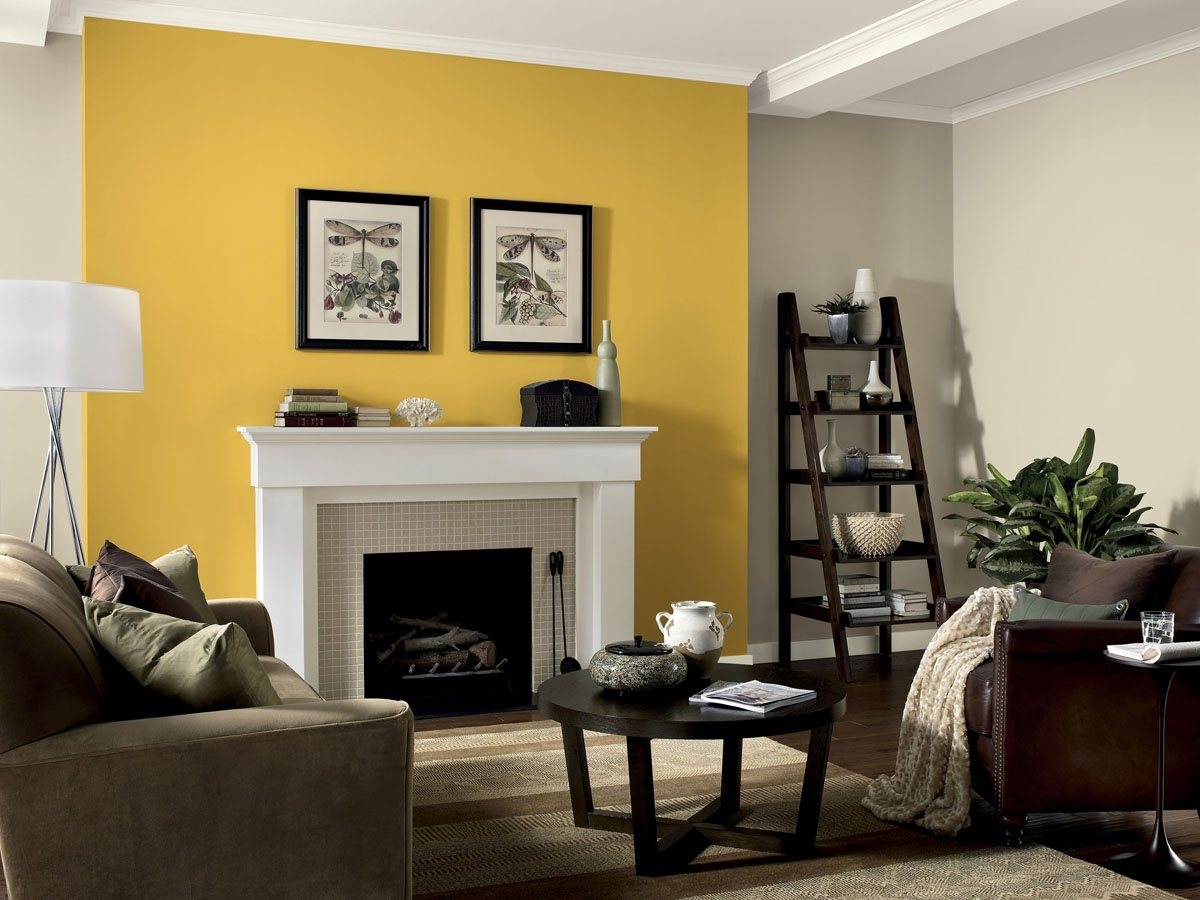 Dining Table Centerpiece Ideas Dining Room Wall Decor Ideas Accent In 2018 Yellow Wall Accents (View 8 of 15)