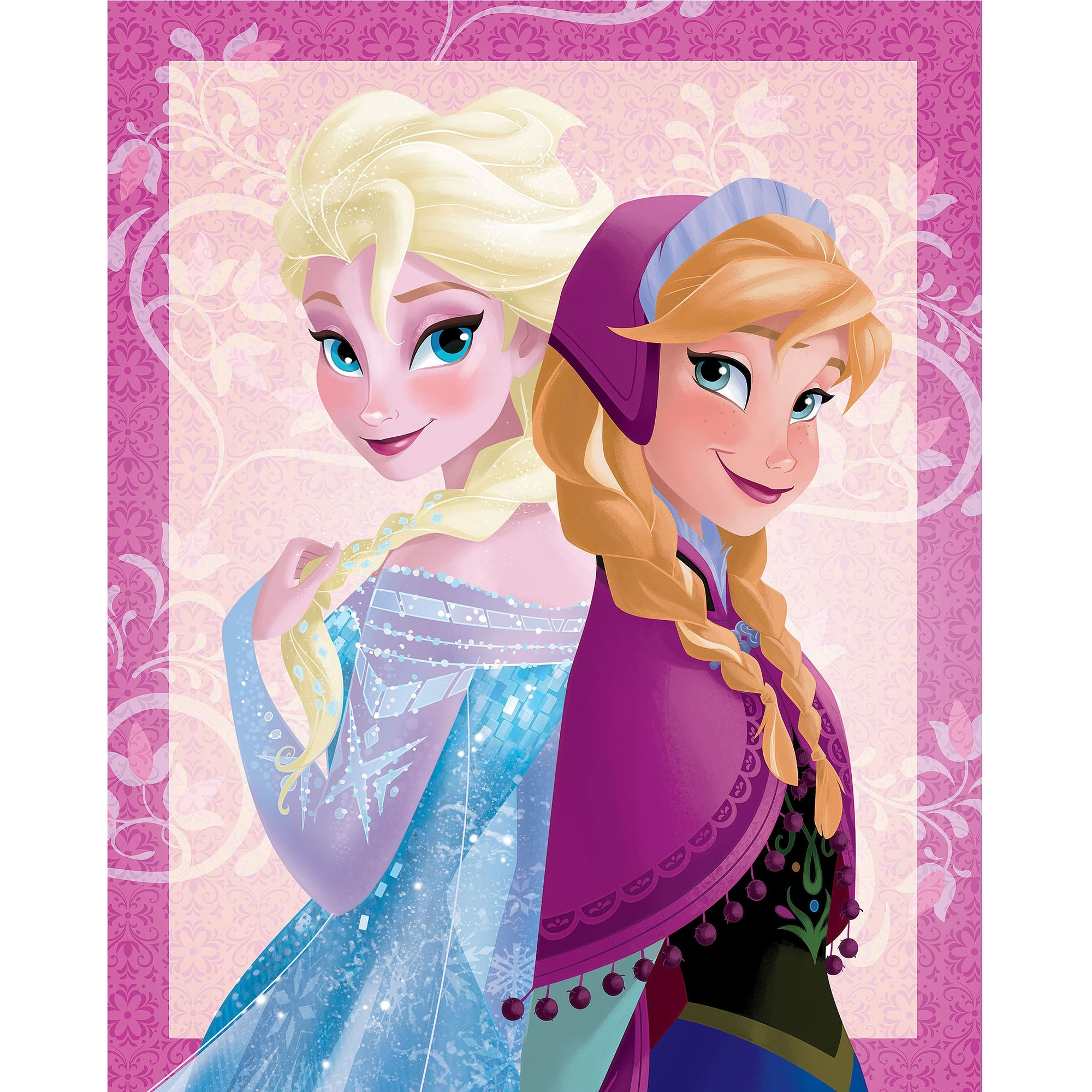 "Disney Frozen Elsa And Anna Canvas Wall Art, 20"" X 30"" – Walmart With Regard To Best And Newest Elsa Canvas Wall Art (View 2 of 15)"