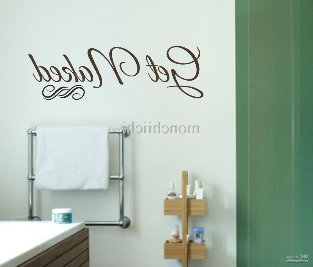 Diy Bathroom Canvas Wall Art Modern Glass Shower Enclosure Designs For Most Current Bathroom Canvas Wall Art (View 14 of 15)