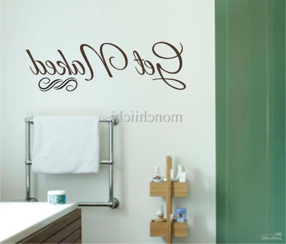 Diy Bathroom Canvas Wall Art Modern Glass Shower Enclosure Designs For Most Current Bathroom Canvas Wall Art (View 11 of 15)