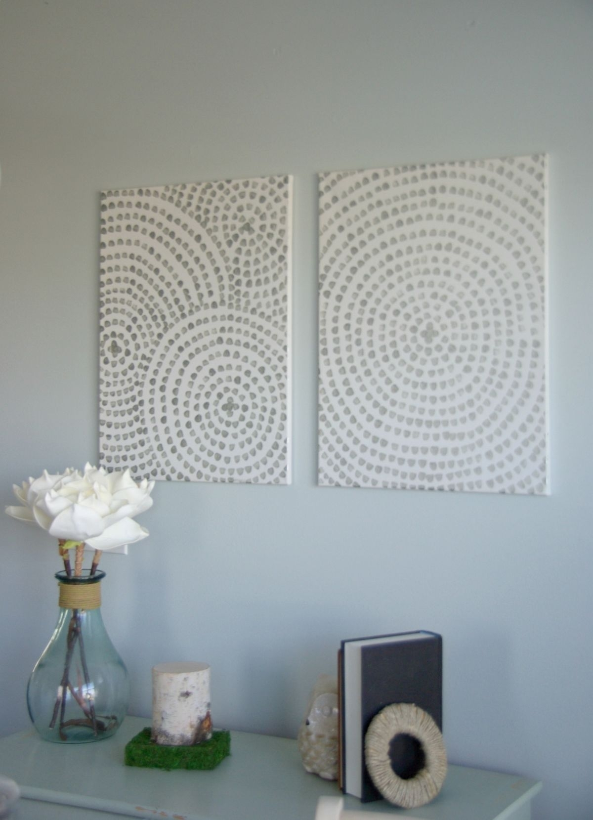Diy Canvas Wall Art - A Low Cost Way To Add Art To Your Home | Diy with regard to Latest Homemade Wall Art With Fabric