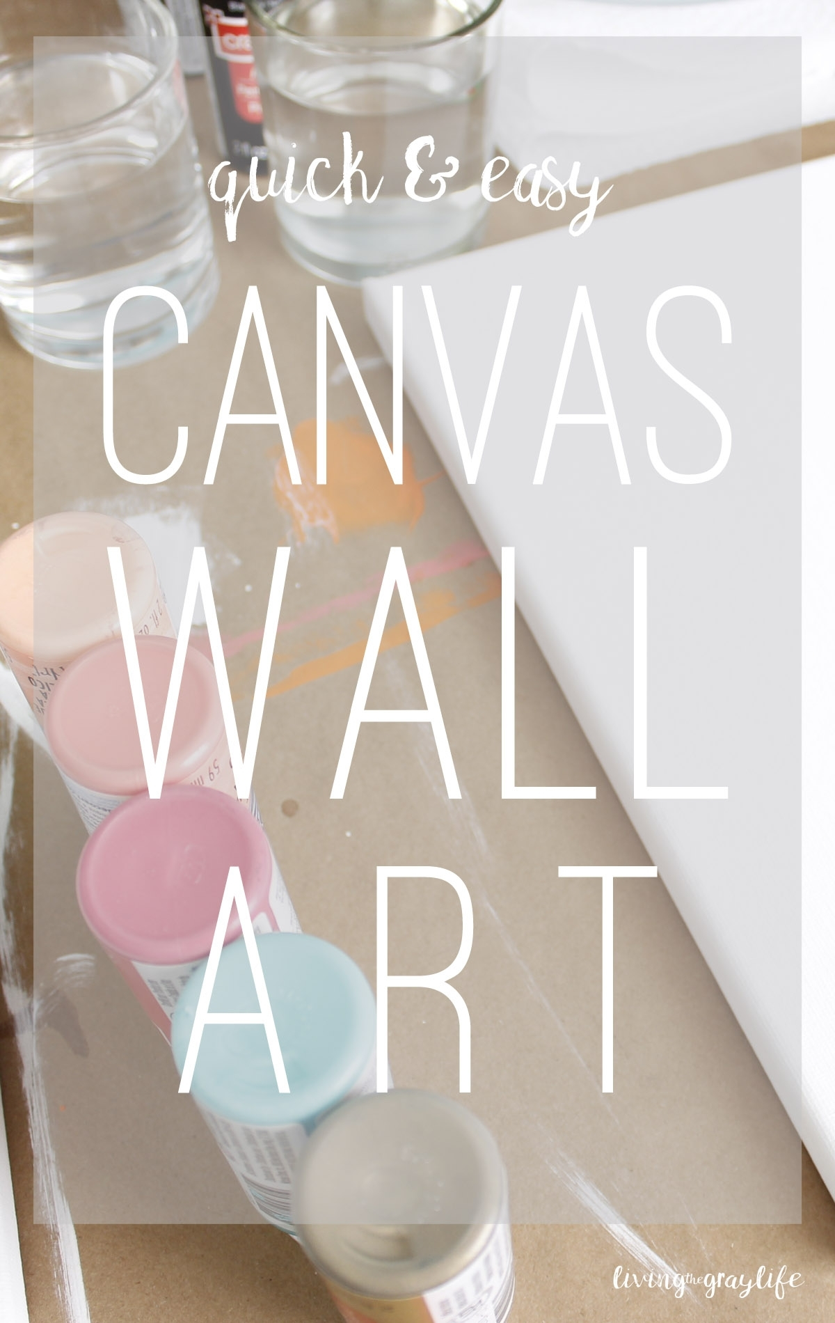 Featured Photo of Diy Canvas Wall Art