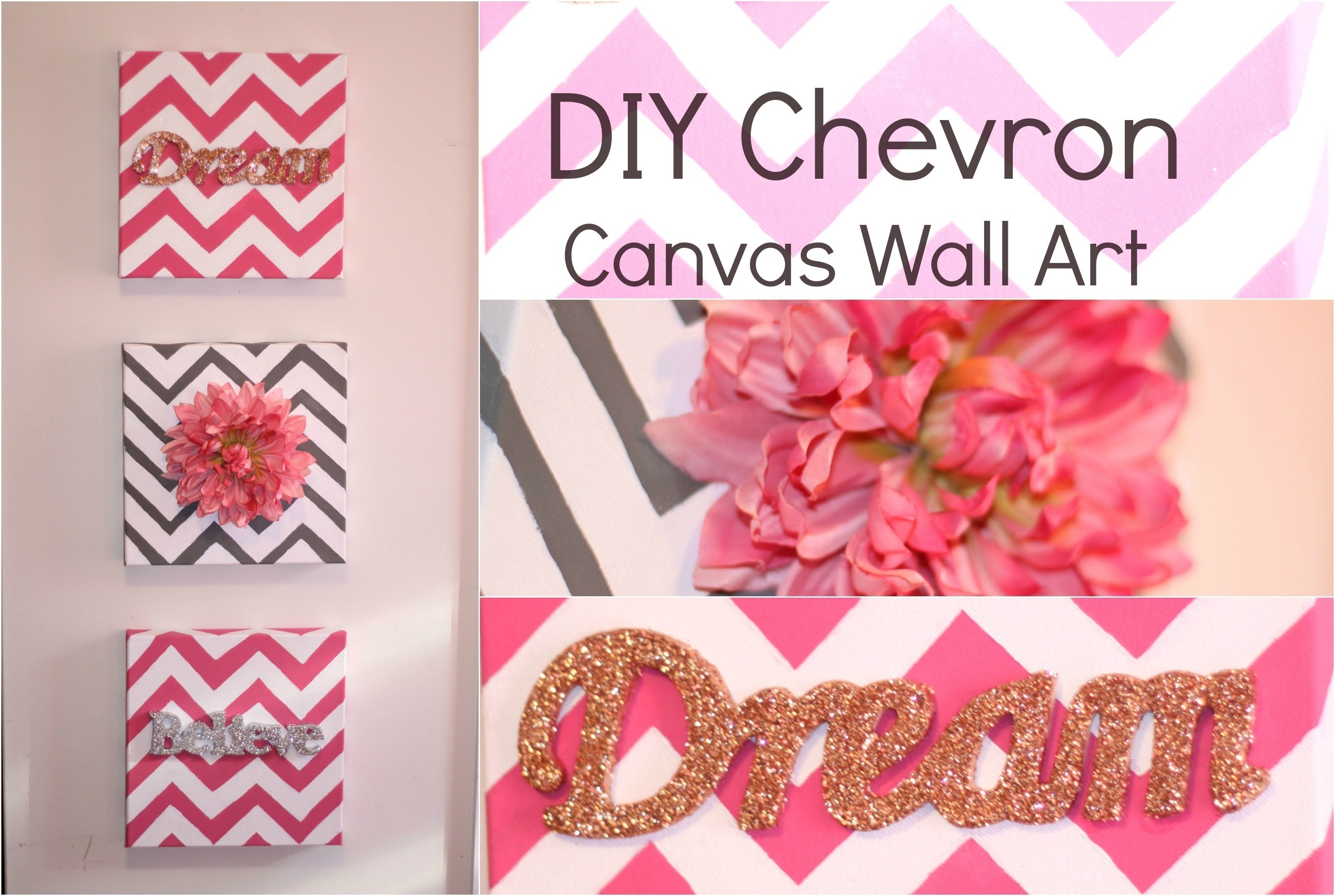 Featured Photo of Homemade Canvas Wall Art