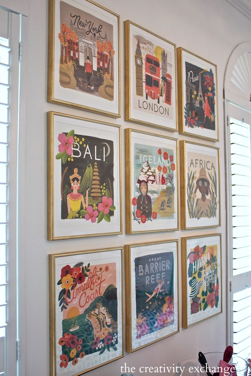 Diy Framed Calendar Prints Intended For Most Recent Custom Framed Art Prints (View 11 of 15)