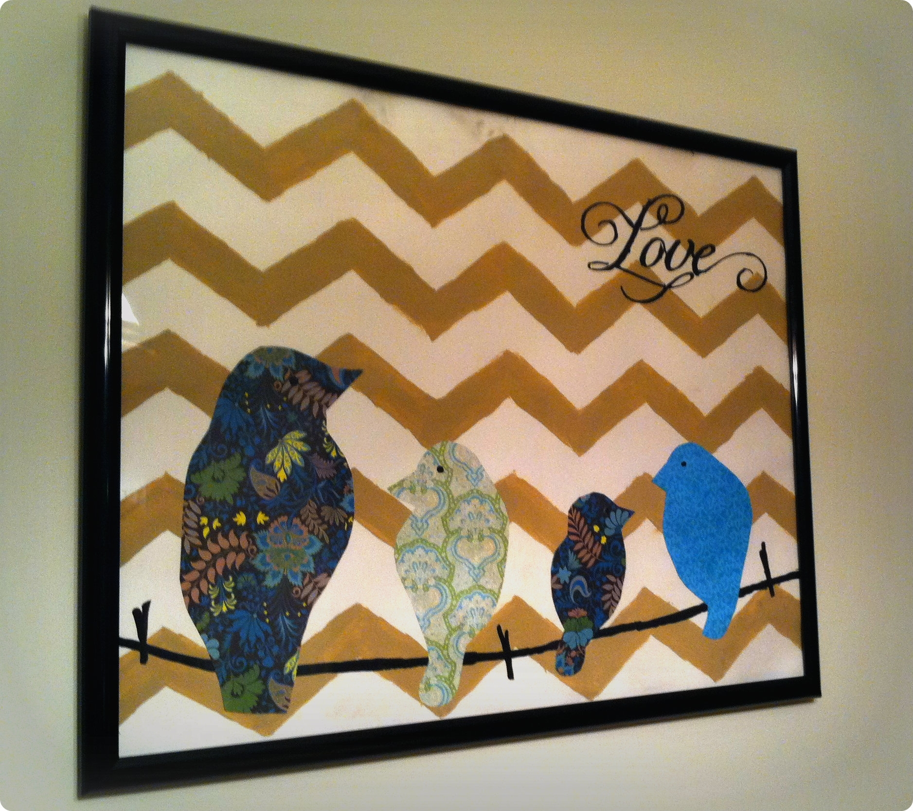 Diy Hobby Lobby Inspired Wall Art – My Life And Meals Regarding Most Recently Released Hobby Lobby Canvas Wall Art (View 3 of 15)