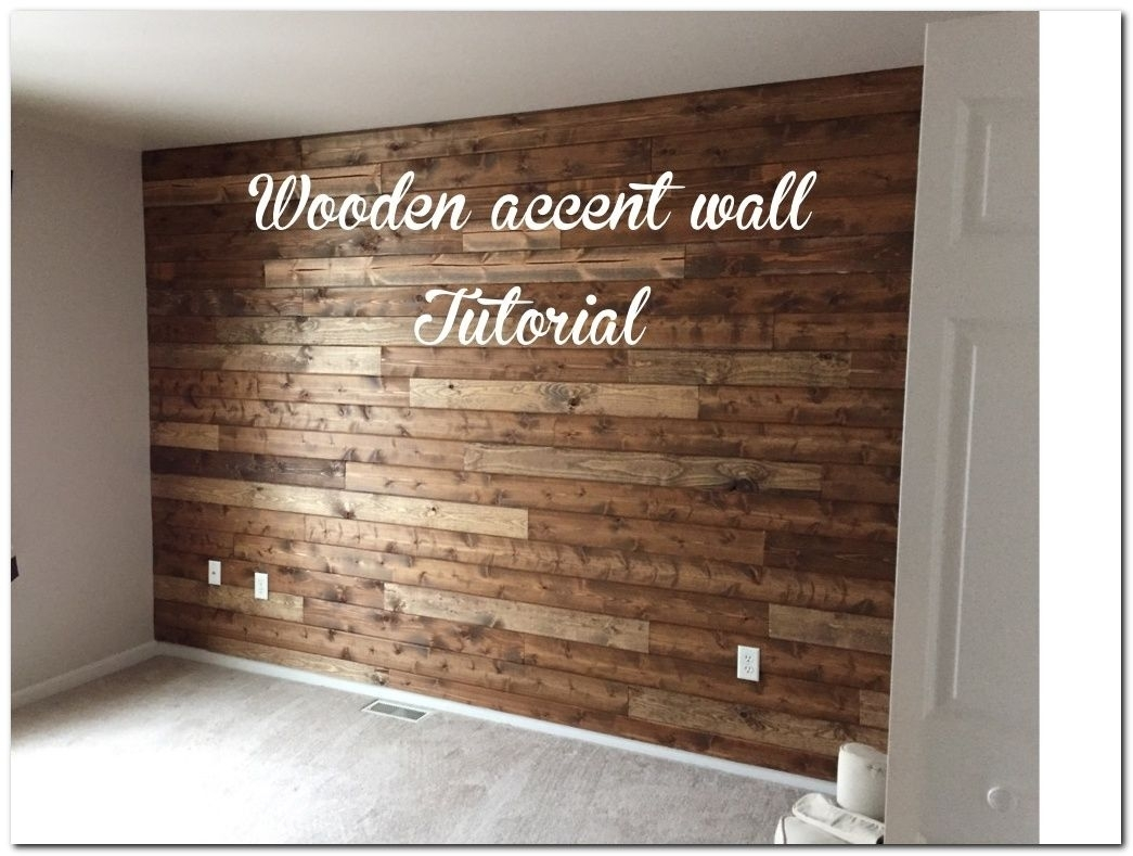 Diy Laminate Flooring On Walls And 30+ Inspirations | Laminate With Regard To Most Recently Released Wall Accents With Laminate Flooring (View 6 of 15)