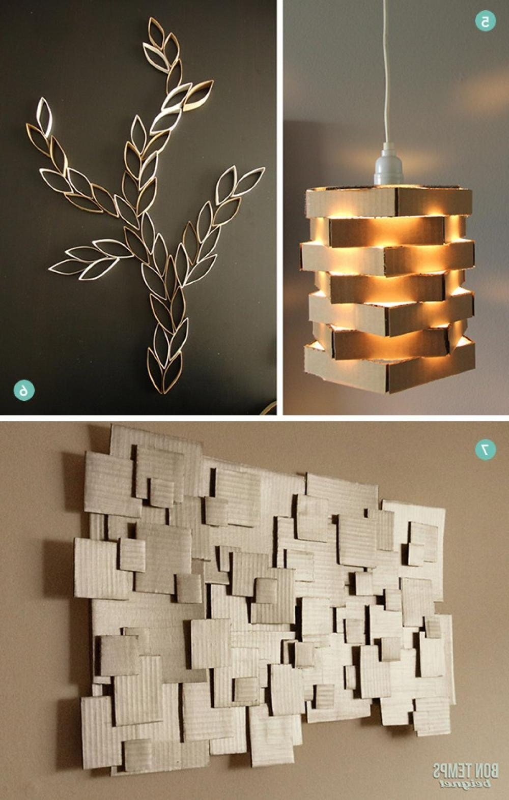 Diy Modern Wall Art | Modern Wall Design | Pinterest | Modern Wall Within Most Recent Modern Wall Accents (View 2 of 15)